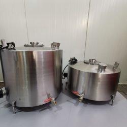 zbiornik do destylacji, keg, destylatory ze stali nierdzewnej