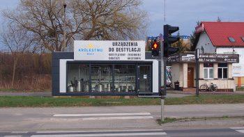 sklep stacjonarny z destylatorami - Królestwo Mocy